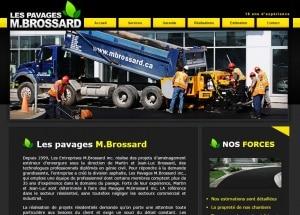 Les Pavages M.Brossard pavage asphalte rive-sud