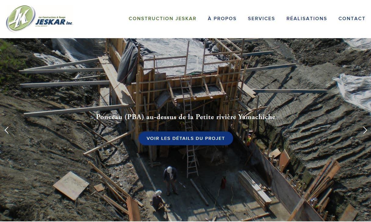 Les Construction et Pavage Jeskar Inc